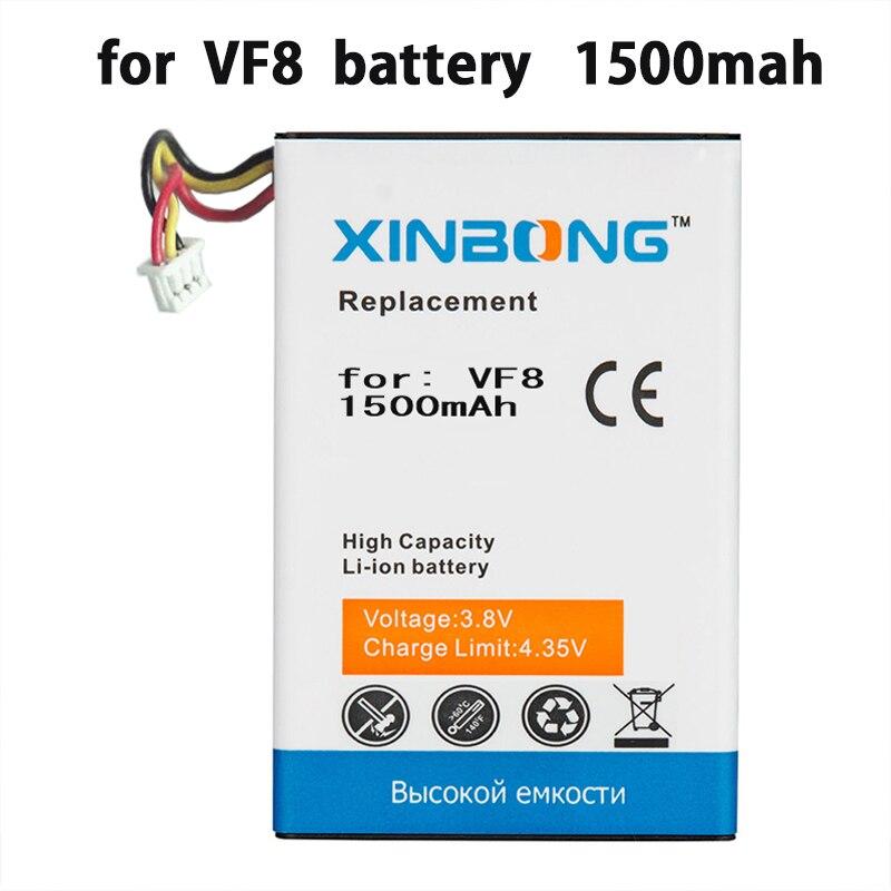 Para TOMTOM VF8 No  AHL03714100 bateria VF8 Go 520 530 530
