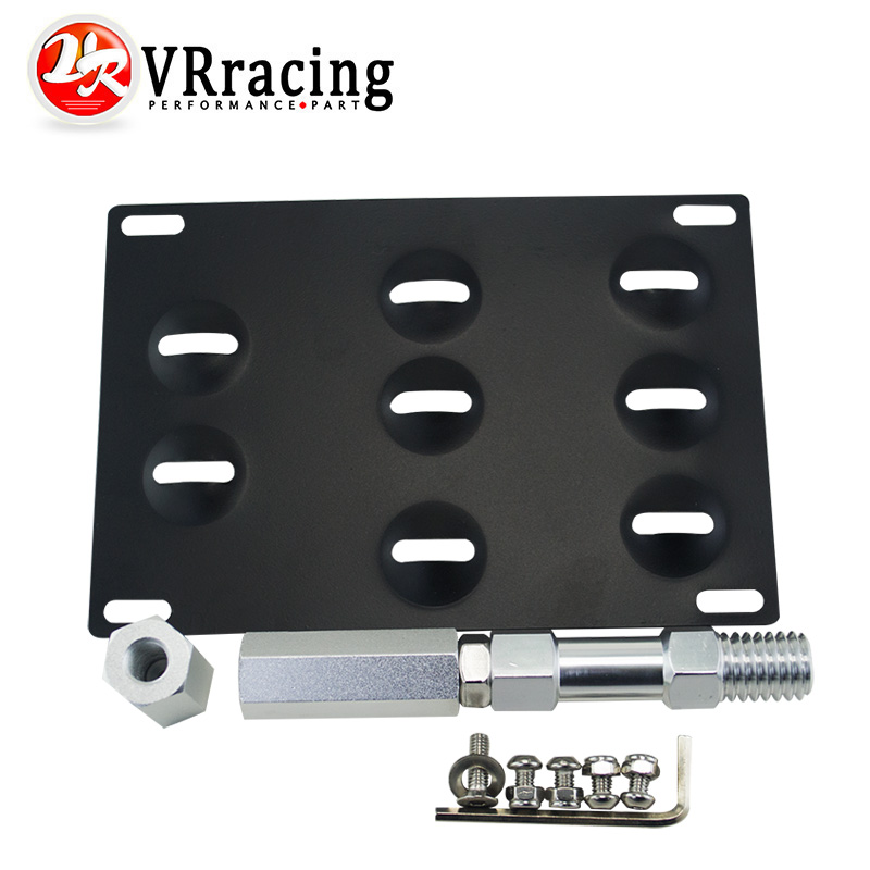 VR RACING - LICENSE PLATE HOLDER MOUNT TOW HOOK BRACKET LICENSE PLATE RELOCATOR FRAME BRACKET FOR BMW F SERIES SERIES VR115