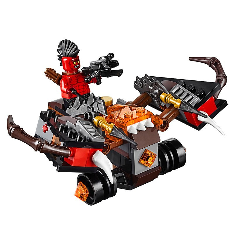 LEPIN Nexo Knights Axl Glob Lobber Combination Marvel Building Blocks Kits Toys  Compatible Legoe Nexus недорого