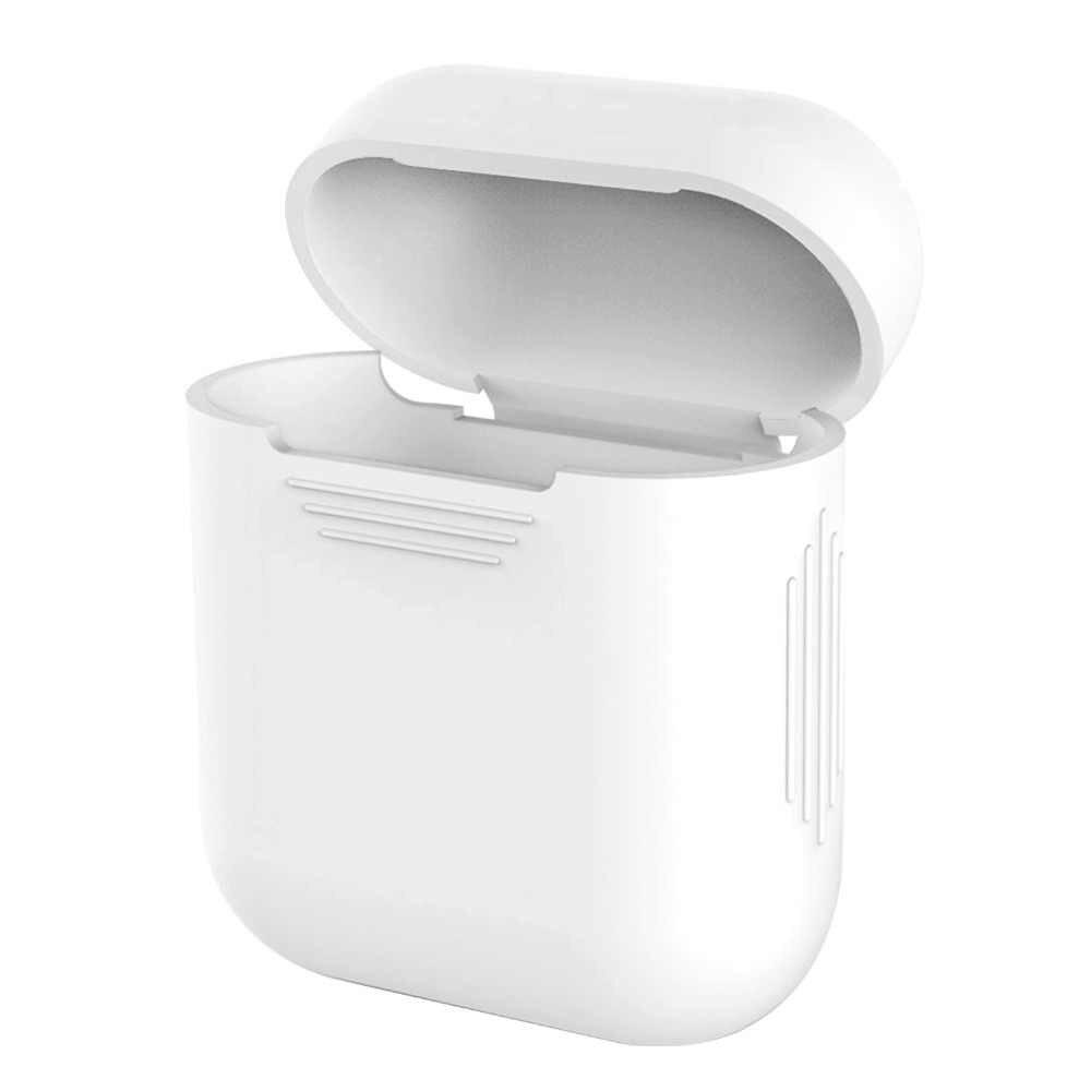 Silikonowe hak skrzynki pokrywa skóry pokrowiec etui z Tws I10 I9s Tws do Apple Airpods douszne słuchawki douszne słuchawki douszne bezprzewodowe słuchawki słuchawki