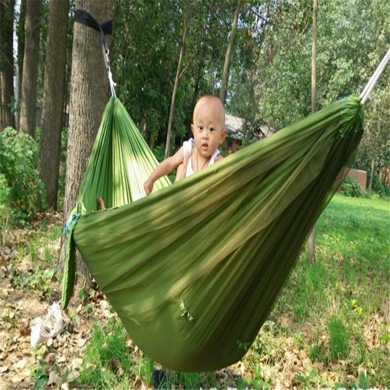 Orderly 1x Outdoor Travel Camping Hammock Portable Double Hammock With Mosquito Net For Outdoor Camping Traveling Es1542 Sleeping Bags