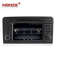 HD 2DIN 1024x600 Android 8,1 Автомобильный DVD плеер для Mercedes Benz класс GL ml W164 ML350 ML500 X164 GL320 GPS стерео радио