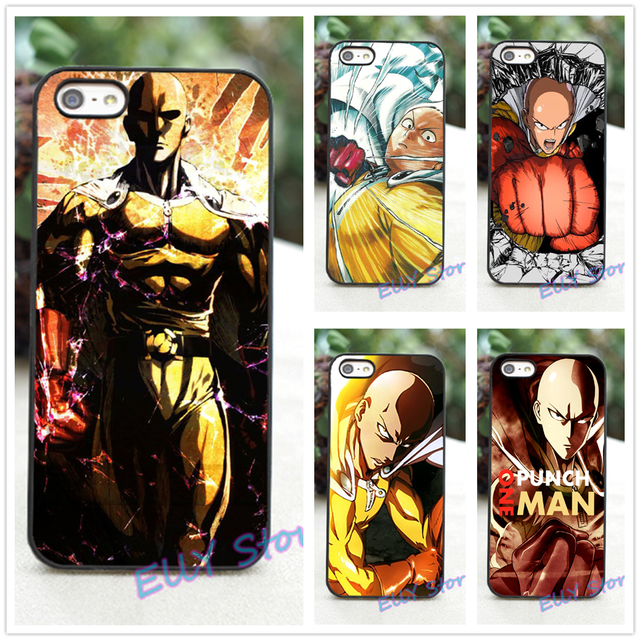 One Punch Man Cover Case for iphone 4 4S 5 5S 5C SE 6 6 plus 6s 6s plus 7 7 plus