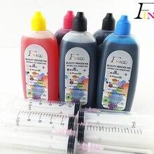 5 цветов специализированные краски для hp все 5 цветов принтер фоточернила УФ устойчивые краски PGBK BK C M Y 5x100 мл