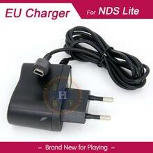 Черный ЕС вилка зарядное устройство питания адаптер переменного тока для nintendo DSL DS Lite консоль NDSL