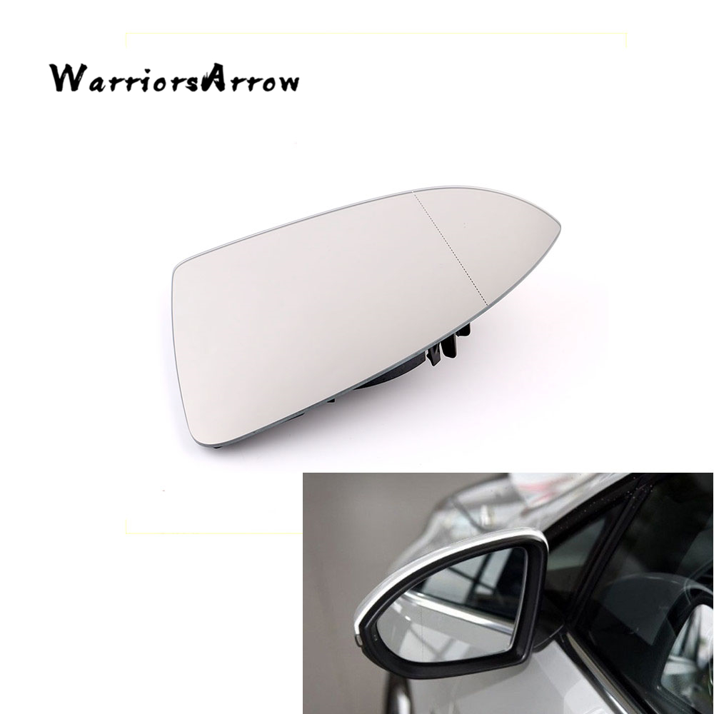WarriorsArrow Heated Driver Left Side Door Wing Mirror Blind Spot For VW e-Golf 2014-2016 GOLF 2013-2017 MK7 5G0857521 image