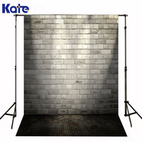 Kate Newborn Baby Backdrop Fotografia Lighting Fall Brick Wallkerst Dark Iron Floor Backgrounds For Photo Shoot