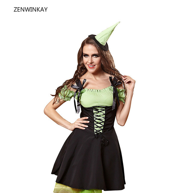 verde fantasía trajes 2017 Niñas uniforme adulta del mujer fantasía Sexy Ropa traje mujer buzos conjunto gZqTxZ