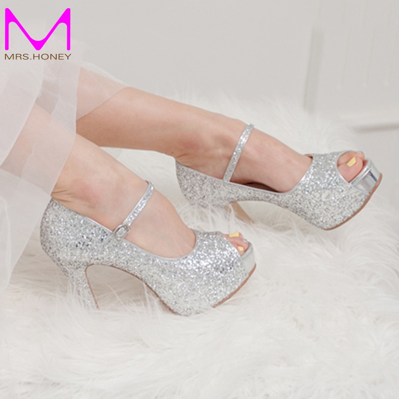 857df9a2b75 Compare Prices on 3 Inch Silver Glitter Heels- Online Shopping Buy .