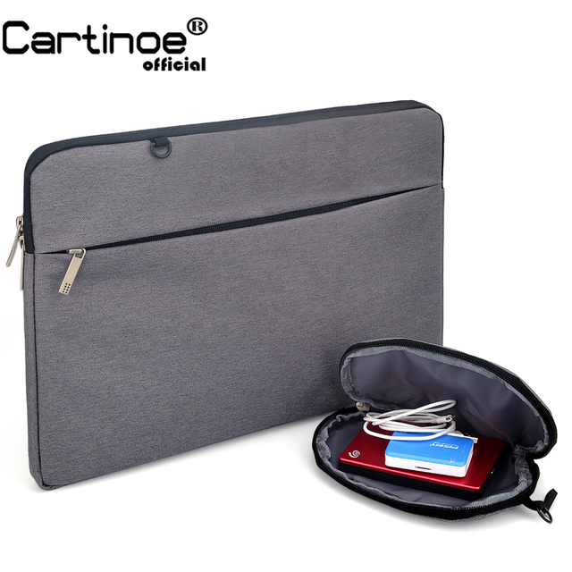 2018 Fashion Cartinoe Laptop Bag case Laptop Sleeve for Macbook air pro pouch bag for Lenovo Dell HP 11 12 13 14 15.6 inch bag