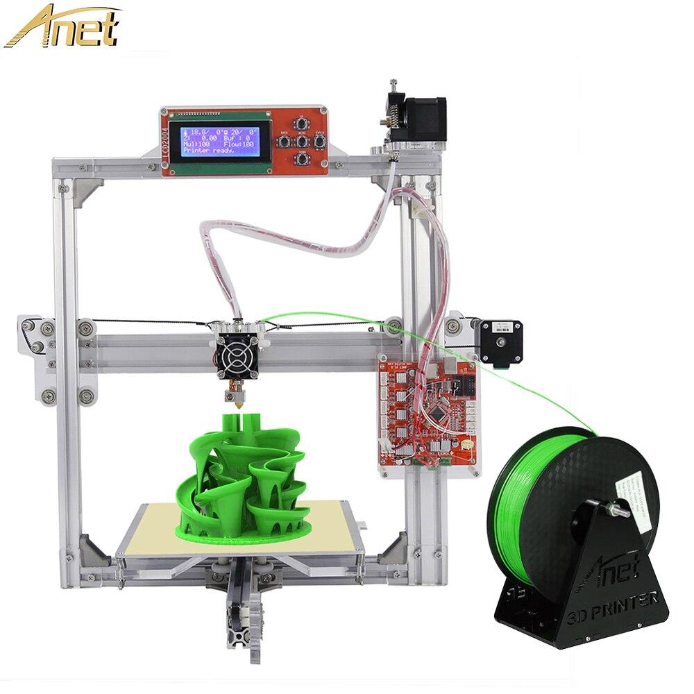 2018 nouveau Anycubic i3 Mega 3D imprimante 3d Kits d'impression pièces pas cher grande taille plein métal écran tactile 3d imprimante 3D Drucker Impresora