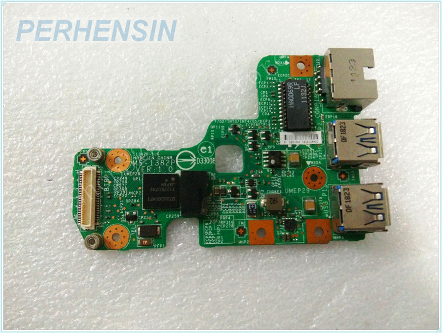 Original Genuine laptop FOR MIS FOR MS-13821 MS-1382 MS-1382P USB WLAN  BOARD