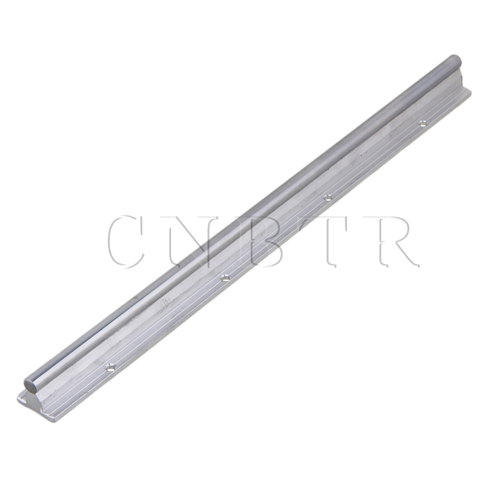 цены L400mm 10mm Shaft Dia Linear Bearing Support Rail CNC Linear Motion CNBTR