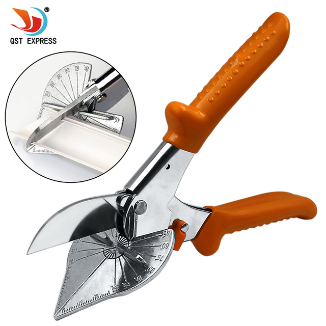 45-180 Degree Multi Angle Mitre Siding Wire Duct Cutter PVC PE Plastic Pipe Hose Scissor Cut Housework home decor Plumbing Tool