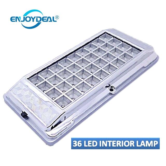LED Panneau Lampe 12 V LED Rectangle De Voiture Véhicule Auto ...