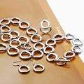 925 sistemas de la joyería, plata Slippy círculo, pulsera del collar de plata, gancho del pendiente, anillo S240