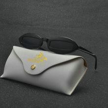 Petit Ovale lunettes de Soleil Hommes Femmes Rétro En Métal Cadre Jaune  Rouge Vintage Minuscule Rond Maigre Mâle Femelle Lunette. 3e5737cdd923