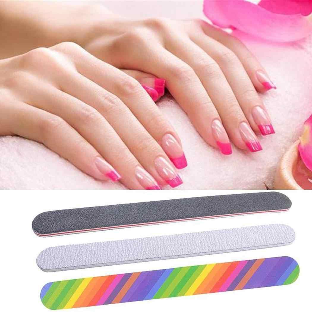 6 шт. маникюрные инструменты многофункциональный буфер блока для ногтей Очистка