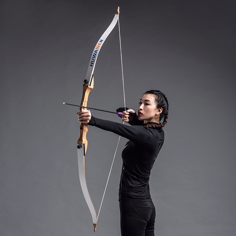 66inch 36lbs archery recurve bow laminated wood fiberglass take down bow shooting hunting bow arrow sports target silicone archery arrow puller remover for target hunting bow shooting keychain b119