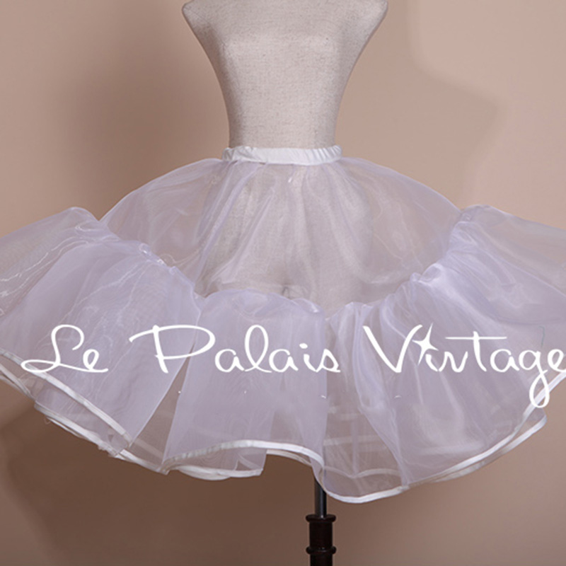 Le Palais Vintage 2014 new vintage style puff Princess skirt yarn exaggerated double Petticoat underskirt underdress