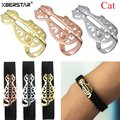 New Fashion Bling Stainless Steel Decoration Accessory Charm for Fitbit FLEX 2 Fitness Tracker