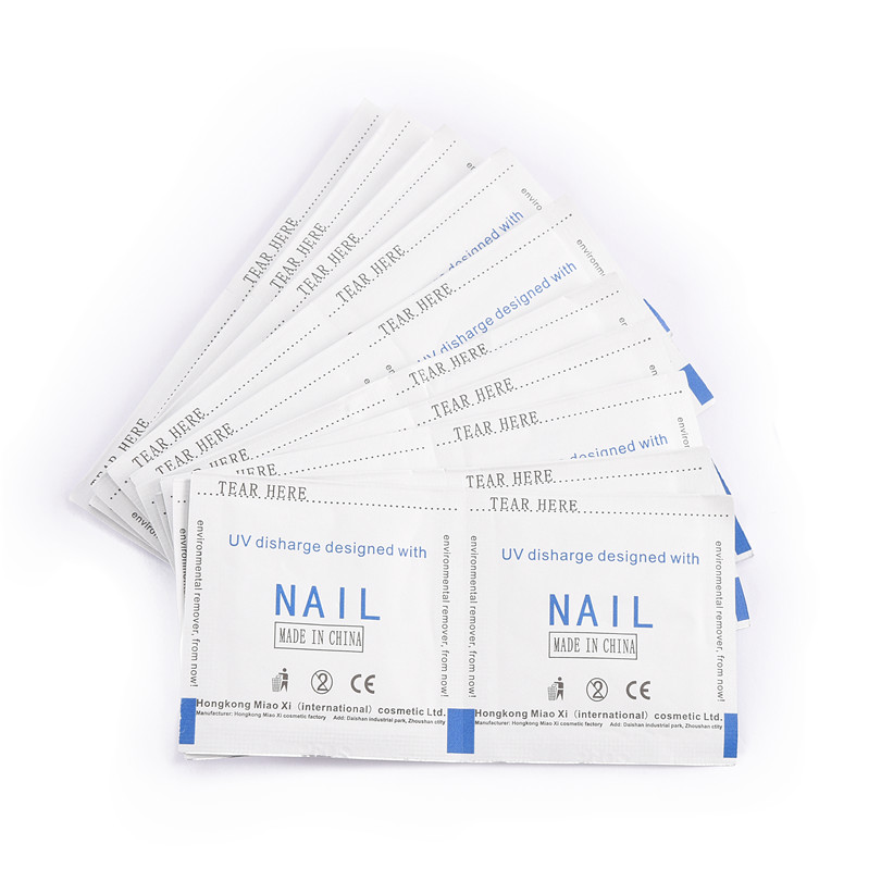 ROSALIND 10PCS/Lot Removal Wraps Nail Polish Remover Nail Art Gel Polish Lacquer Easy Cleaner Remover Nails Care Tools