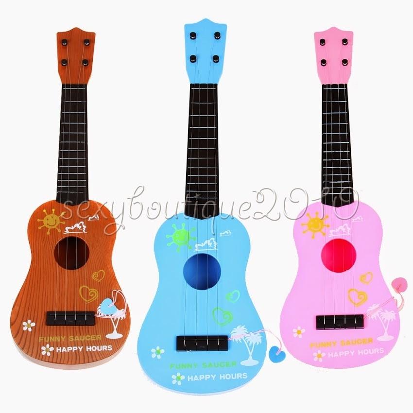Laste lapsed Algaja Mini Väike muusikaline mänguasja simulatsiooni kitarriõpetus
