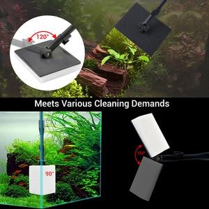 Image 3 - NICREW cepillo 6 en 1 para acuario, rascador de algas para acuario, Kit de herramientas de limpieza, accesorios de limpieza para peceras