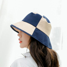 BINGYUANHAOXUAN 2018 New Summer Cotton Plaid Wide Brim Bucket Hats for Women Men Outdoor Fishing Hat Sport Travel Cap