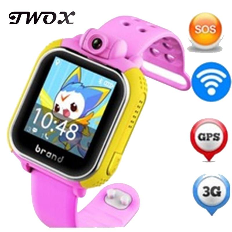 JM13 3G Смарт-часы Камера GPS фунтов WI-FI детские наручные SOS Мониторы трекер сигнализации для IOS Android для смарт-часы PK Q90 Q50