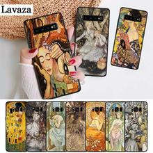 Lavaza art ALPHONSE MUCHA Slim Design Silicone Case for Samsung S6 Edge S7 S8 Plus S9 S10 S10e Note 8 9 10 M10 M20 M30 M40