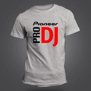 2017 Pioneer DJ официальный стиль Pioneer Футболка модная летняя футболка для Pioneer DJ PRO футболка мужские футболки с круглым вырезом
