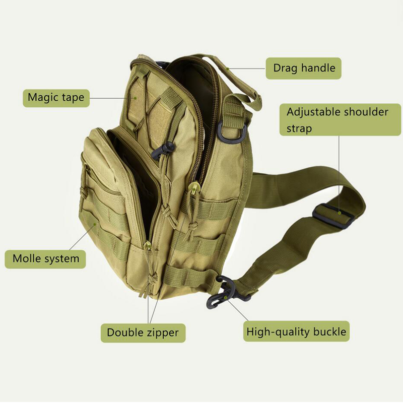600D Outdoor Camping Hiking Bag Sports Bag Shoulder Military Tactical Backpack Utility Camping Hiking Trekking Bag 2018 a outdoor sports tactical backpack camping men s military bag nylon for cycling hiking climbing trekking camouflage bag