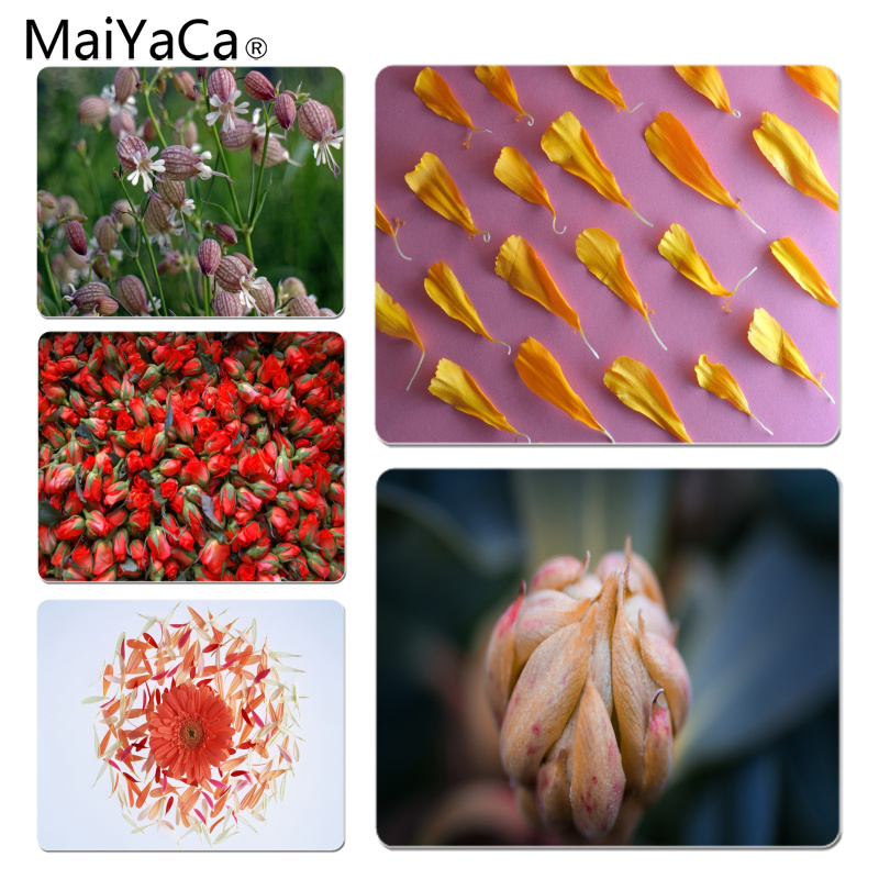 MaiYaCa Petal Background Large Mouse pad PC Computer mat Size for 18x22x0.2cm Gaming Mousepads