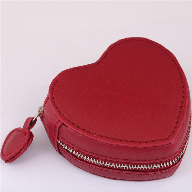 9*9*4cm Red Heart Leather Pandora Packaging Box Fine Jewelry Display Bag Ring Bracelet Earrings Gift Box For Europe DIY Jewelry