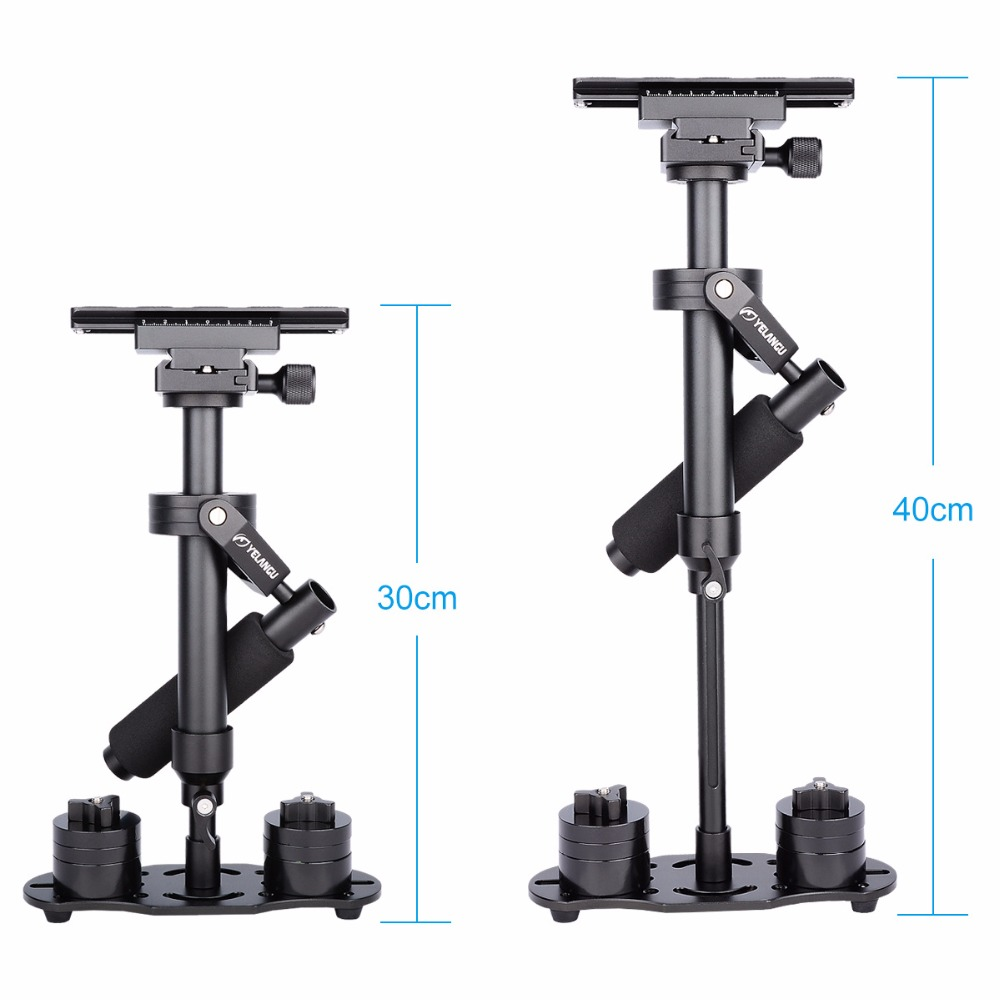 S40 40cm Professional Handheld Stabilizer Steadicam for Camcorder Digital Camera Video Canon Nikon Sony DSLR Mini Steadycam s40 40cm professional carbon fiber mini dslr video camera dv camcorder stabilizer steadycam steadicam for canon sony nikon gopro