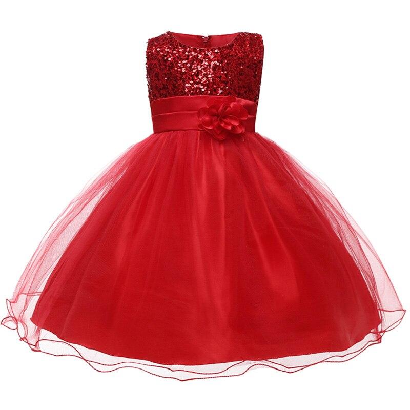 HTB1VYQwaLfsK1RjSszgq6yXzpXaH Princess Flower Girl Dress Summer Tutu Wedding Birthday Party Dresses For Girls Children's Costume New Year kids clothes