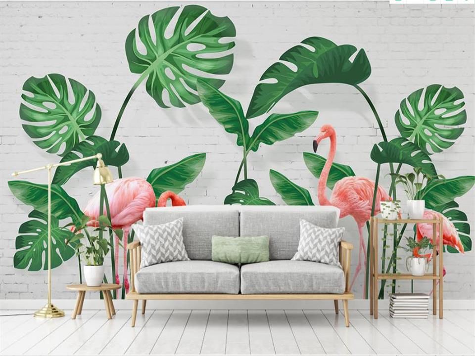3d wallpaper photo wallpaper custom livingroom mural banana leaf flamingo painting picture 3d wall murals wallpaper for walls 3d shinehome black white cartoon car frames photo wallpaper 3d for kids room roll livingroom background murals rolls wall paper