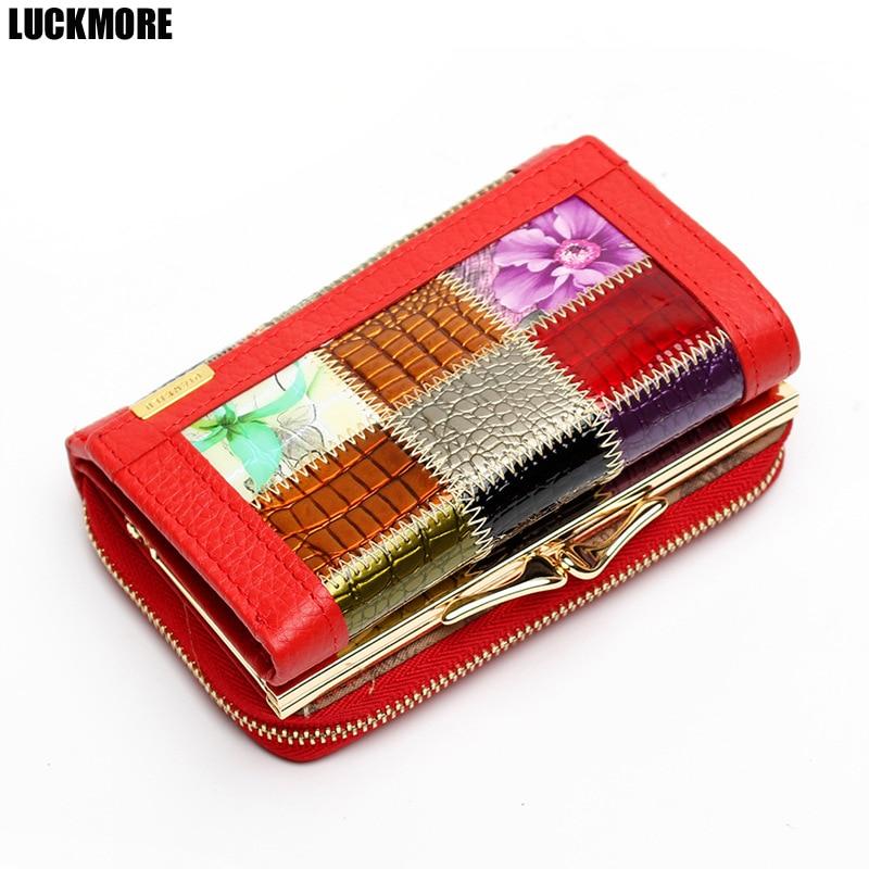 Brand Women Wallets 2016 Fashion Designer Short Wallets Female Split Leather Women Clutch Handbag Gift Cards Coin Purse Wallet