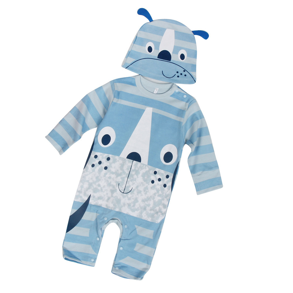 baby clothes 2016baby jumper clothing animal baby romper suits Long Sleeve Baby Clothing Jumpsuits Autumn Clothing Set best love