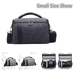 Image 5 - DSLR Camera Bag Digital Cameras Camcorder Case for Nikon Z7 Z6 Z5 Z50 D3500 D5600 Canon EOS R5 R6 R RP 850D Panasonic S1 S5 G9