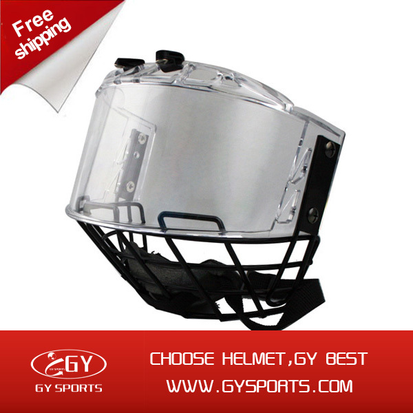 2015 spring Hot sales hockey visor of helmet for head protect free shipping недорого