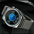 Smart watch x10 círculo completo do bluetooth android monitor de freqüência cardíaca em tempo real da temperatura inteligente passo instrumento altitude