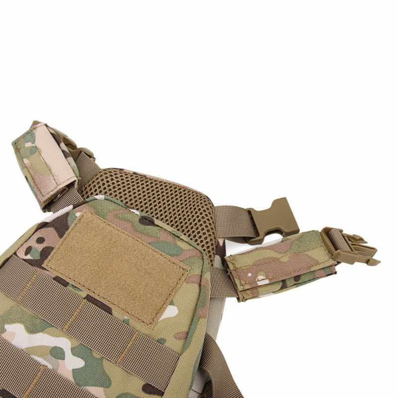 Niños Mini Airsoft táctico caza chaleco bolsas con cinturón patrullero Molle Chaleco de combate XS/S al aire libre caza chalecos NIÑOS 2-6 años nuevo
