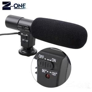 Image 2 - Mic 01 المهنية مكثف كاميرا ميكروفون لكانون EOS M2 M3 M5 M6 800D 760D 750D 77D 80D 5Ds R 7D 6D 5D مارك IV