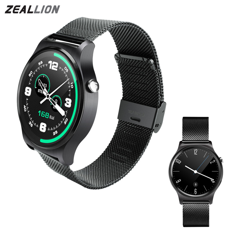 GW01 Smart Watch Clock 1.3 Display Sync Notifier Support Bluetooth 4.0 Connectivity For Android iOS Phone Smartwatch floveme q5 bluetooth 4 0 smart watch sync notifier sim card gps smartwatch for apple iphone ios android phone wear watch sport