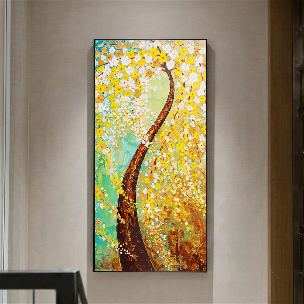Beauty Poster Abstract Oil Painting Large Size Girl Play Violon ...