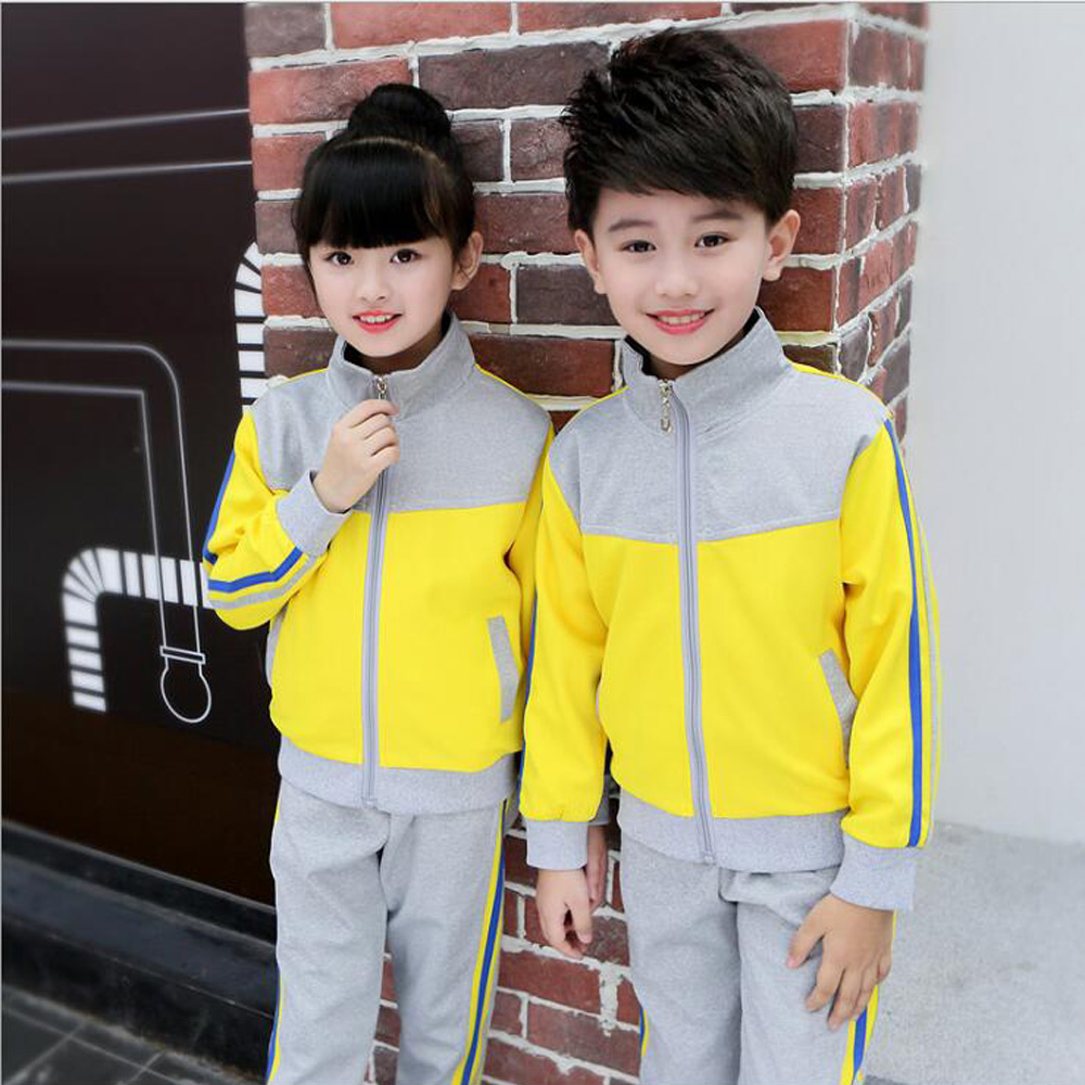 Kids Adults Primary School Uniform Teen Students Sport Costumes Girls Boys Autumn School Uniforms Costumes Tracksuit Outfits