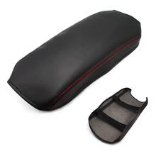 Car Center Console Armrest Box / Door Handle Panel Cover microfiber leather Protection Trim for Toyota Camry 2012-2015 2016 2017