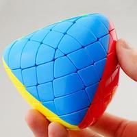 LeadingStar 5x5x5 Pyramorphix Magic Cube Mastermorphix Brain Teaser Puzzle Stickerless Twisty Puzzle Cube Intelligence Toy